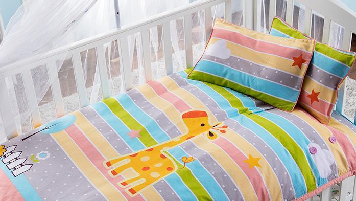 幼儿园儿童扣子羽绒睡袋定制