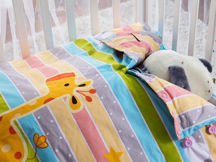 飘雪幼儿园儿童羽绒睡袋定制案例